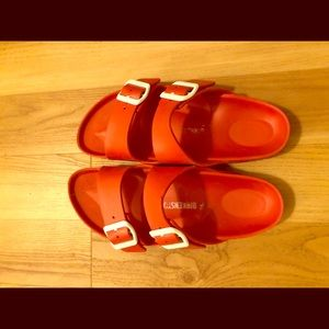 Birkenstock Eva Red Sandals